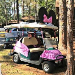 Fort Wilderness Resort and Campground Golf Cart