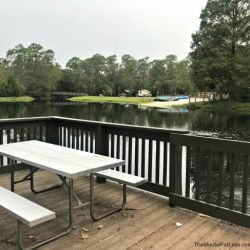 Fort Wilderness Resort and Campground Outdoor Seating
