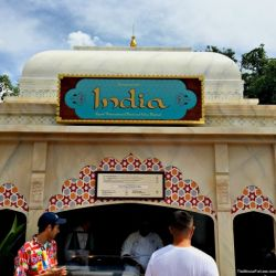 Epcot Food & Wine Festival - India Booth