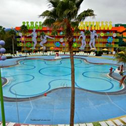 Pop Century Hippie Dippie Pool