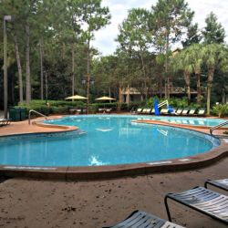 Port Orleans Riverside Quiet Pool