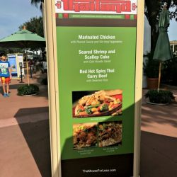Epcot Food & Wine Festival - Thailand Booth