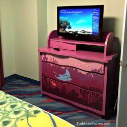 Finding Nemo Room 1 Bedroom TV