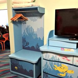 Finding Nemo Room TV and Storage
