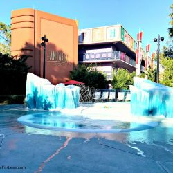 All-Star Movies Resort Fantasia Kiddie Pool