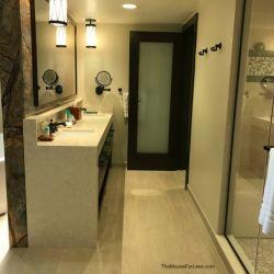 Grand Villa Master Bathroom Shower and Sink